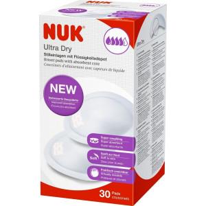 Επιθέματα Στήθους Nuk Ultra Dry (30τεμ) (Κωδ.4008600245391)