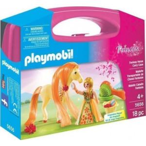 Playmobil Princess Maxi Βαλιτσάκι Πριγκήπισσα με Άλογο 5656 #787.342.187, narlis.gr