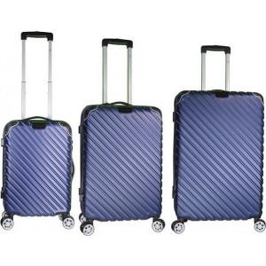 Βαλίτσα  RB 9008 RAIN SET3 Blue Δωρεάν μεταφορικά!!!!!!