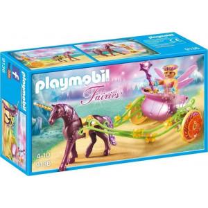 Playmobil Νεραιδοάμαξα με Μονόκερο 9136 #787.342.168, narlis.gr