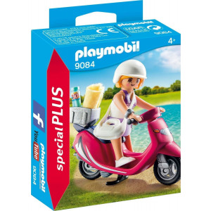 Playmobil Κοπέλα με Σκούτερ 9084 narlis