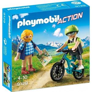 Playmobil Ποδηλάτης και Ορειβάτης 9129