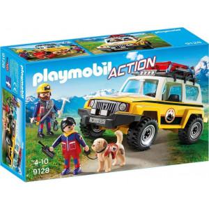 Playmobil Αλπικό Όχημα Διάσωσης (9128)