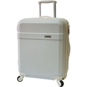 Βαλίτσα Λευκή( RCM AH6127} cabin (Επέκταση με φερμουάρ 4cm για επιπλέον χωρητικότητα!)