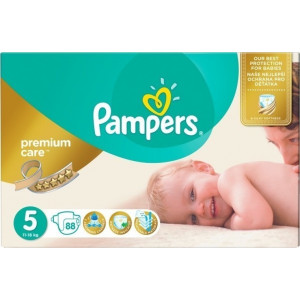 Pampers Premium Care No5 (11-18kg) 88 τεμ (Κωδ.660.01.032) (027,15 λεπτά ανά τεμάχιο)