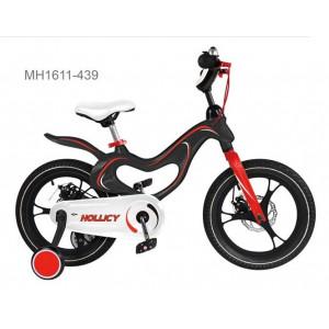 "Moni Παιδικό ποδηλατάκι 16"" με Δισκόφρενα Magnesium Black (#737.353.085#)"