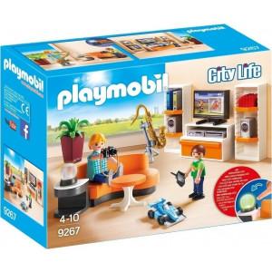 Playmobil Μοντέρνο Καθιστικό 9267 #787.342.109, narlis.gr