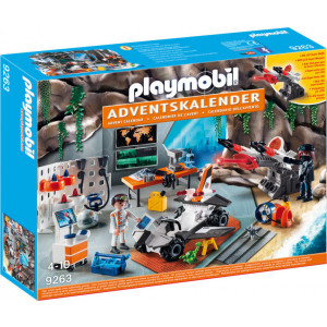 Playmobil Χριστουγεννιάτικο Ημερολόγιο - Εργαστήριο Της Spy Team (9263) Α