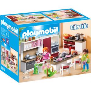 Playmobil Μοντέρνα Κουζίνα 9269 #787.342.111, narlis.gr