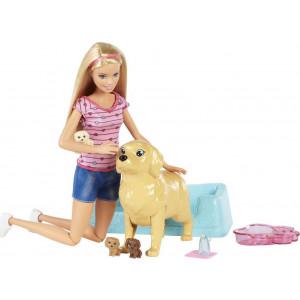Η Barbie & Τα Νεογέννητα Κουταβάκια (FDD43)