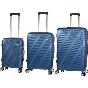 Βαλίτσα  Rain RB90667 Setx3 Blue  Δωρεάν μεταφορικά!!!!!!