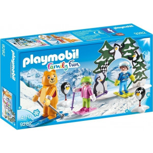 Playmobil Εκπαιδευτής Σκι με Παιδάκια 9282 #787.342.121, narlis.gr