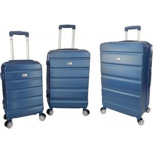 Βαλίτσα  Rain RB9068 Set x3 Blue  Δωρεάν μεταφορικά!!!!!!