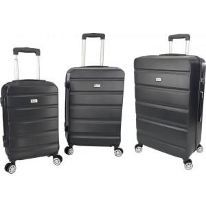 Βαλίτσα  Rain RB9068 Set x3 Black  Δωρεάν μεταφορικά!!!!!!