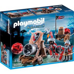 Playmobil Ιππότες Του Γερακιού Με Κανόνι Γίγας (6038)