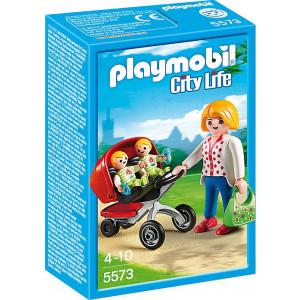 Playmobil Μαμά με Δίδυμα 5573 narlis.gr