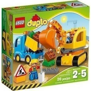 LEGO Duplo Truck  Tracked Excavator 10812  793.342.096