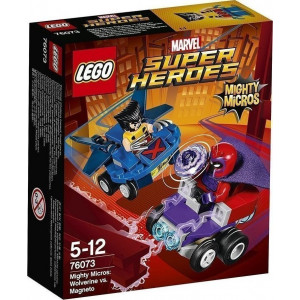 LEGO Mighty Micros Wolverine Vs Magneto 76073