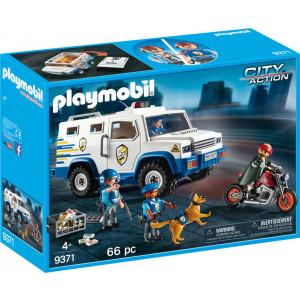 Playmobil City Action Όχημα Χρηματαποστολής 9371, narlis.gr
