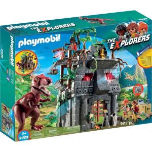 Playmobil Αρχηγείο των Explorers και TRex 9429 Κωδ. 787.342.039