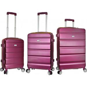 Βαλίτσα  Rain RB9068 Set x 3 Purple   Δωρεάν μεταφορικά!!!!!!