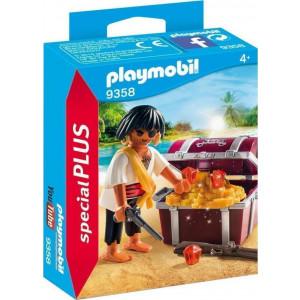 Playmobil Πειρατής με Σεντούκι Θησαυρού 9358 narlis.gr