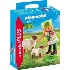 Playmobil Αγρότισσα με Πρόβατα 9356