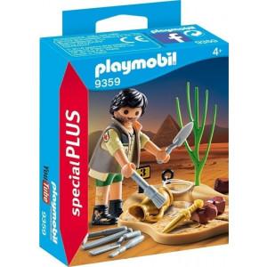 Playmobil Αρχαιολόγος με Εργαλεία Ανασκαφής 9359 narlis