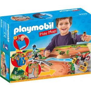 Playmobil Επιφάνεια Παιχνιδιού Πίστα Motocross 9329 #787.342.128, narlis.gr