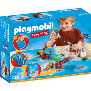 Playmobil Επιφάνεια παιχνιδιού Πειρατική περιπέτεια 9328 #787.342.127