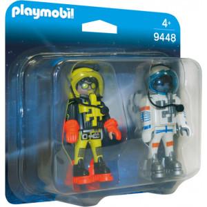 Playmobil Duo Pack Αστροναύτες 9448 narlis.gr