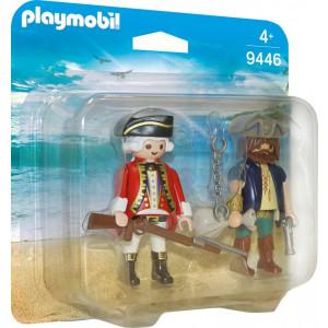 Playmobil Duo Pack Πειρατής και Στρατιώτης 9446 narlis.gr