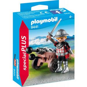 Playmobil Ιππότης με Κανόνι 9441 #787.342.308