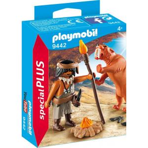 Playmobil Άνθρωπος των Σπηλαίων με Τίγρη 9442 narlis