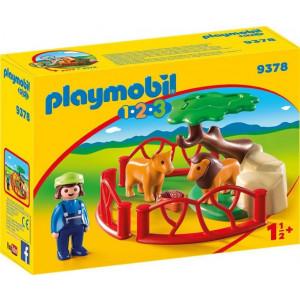 Playmobil Λιοντάρια Ζωολογικού Κήπου Με Περίφραξη #787.342.086, narlis.gr
