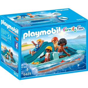 Playmobil Θαλάσσιο Ποδήλατο με Τσουλήθρα 9424 #787.342.034, narlis.gr