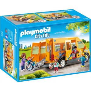 Playmobil Σχολικό Λεωφορείο 9419 παιδικά παιχνίδι narlis.gr