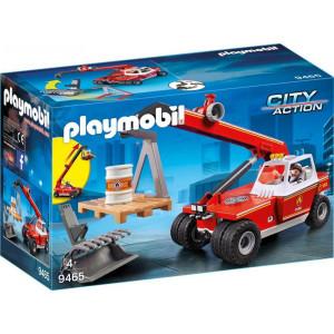 Playmobil City Action 9465 Γερανός Πυροσβεστικής