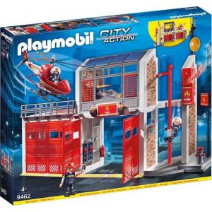 Playmobil Μεγάλος Πυροσβεστικός Σταθμός 9462, παιδικό παιχνίδι, narlis.gr