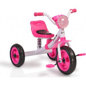 Moni Byox Τρίκυκλο Ποδηλατάκι Felix, Pink 3800146242374, narlis.gr