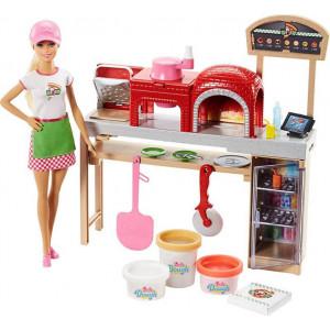 Barbie Σεφ Εργαστήριο Πίτσας (FHR09)