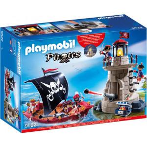 Playmobil Πειρατικό Καράβι και Φάρος 9522 Κωδ. 787.342.245