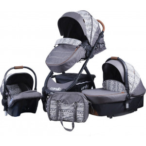 Carello Trio M30 Premium Edition Patchwork Grey (237.097.003)