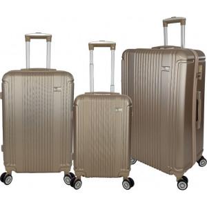Βαλίτσα  Rain RB9028 Set 3x Champagne  Δωρεάν μεταφορικά!!!!!!