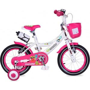 Ποδήλατο 1481 Παιδικό V-Brake 14'' Pink Byox 3800146200763