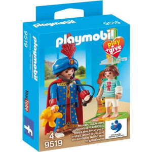 Playmobil Μαγικός Παιδίατρος Play & Give (9519) Α