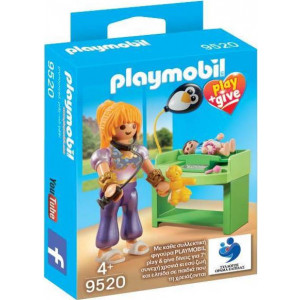 Playmobil Μαγική Παιδίατρος Play and Give 9520