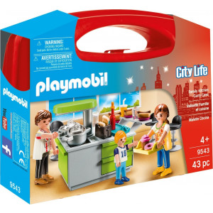 Playmobil Maxi Βαλιτσάκι Μοντέρνα Κουζίνα 9543 #787.342.008, narlis.gr