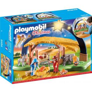 Playmobil Φάτνη Με Φωτεινό Αστέρι (9494) Α