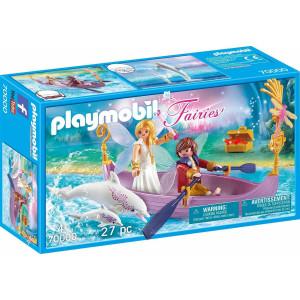 Playmobil Νεραϊδοβαρκούλα Με Δελφίνια 70000 Α